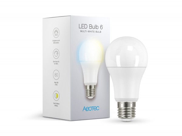 Aeotec LED-Bulb 6 Multi-White
