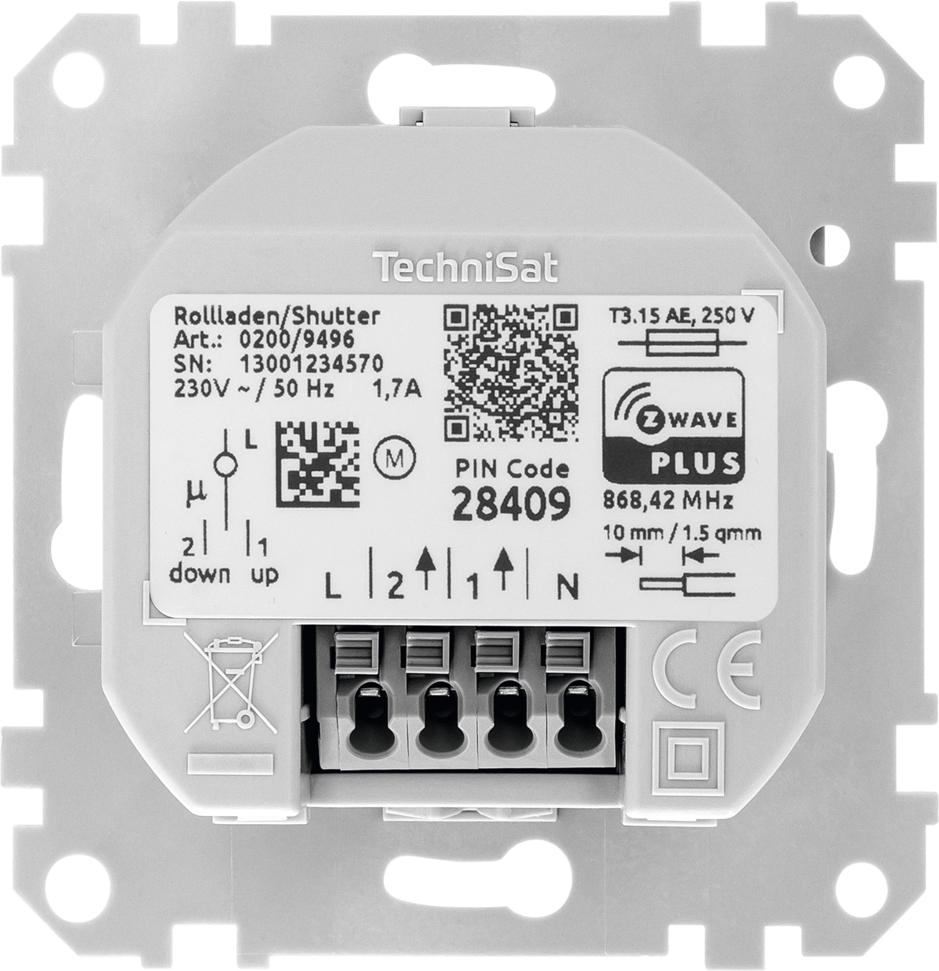 TechniSat Rollladenschalter Einsatz, Merten   ottosystem GmbH