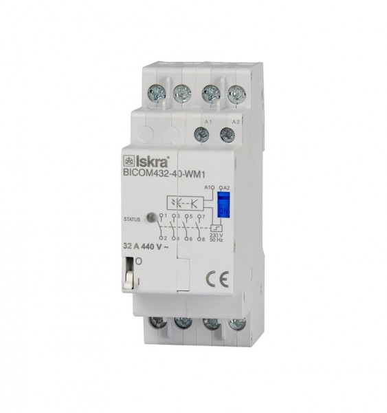 Qubino Smart Meter Zubehör BICOM432-40-WM1 Bistable Switch
