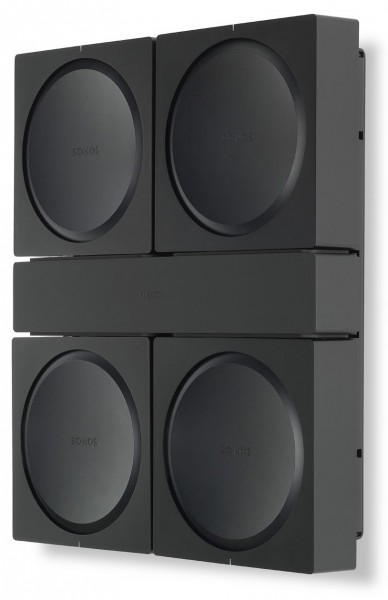 Flexson Wandhalterung für 4 Sonos Amp