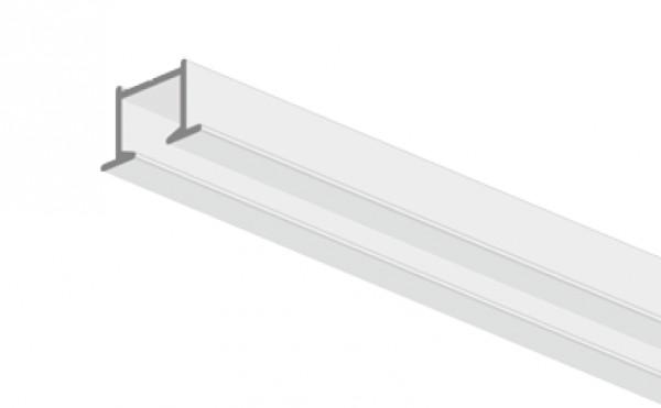 Mio Decor Simple 320 Aluminium Unterputz Vorhangschiene