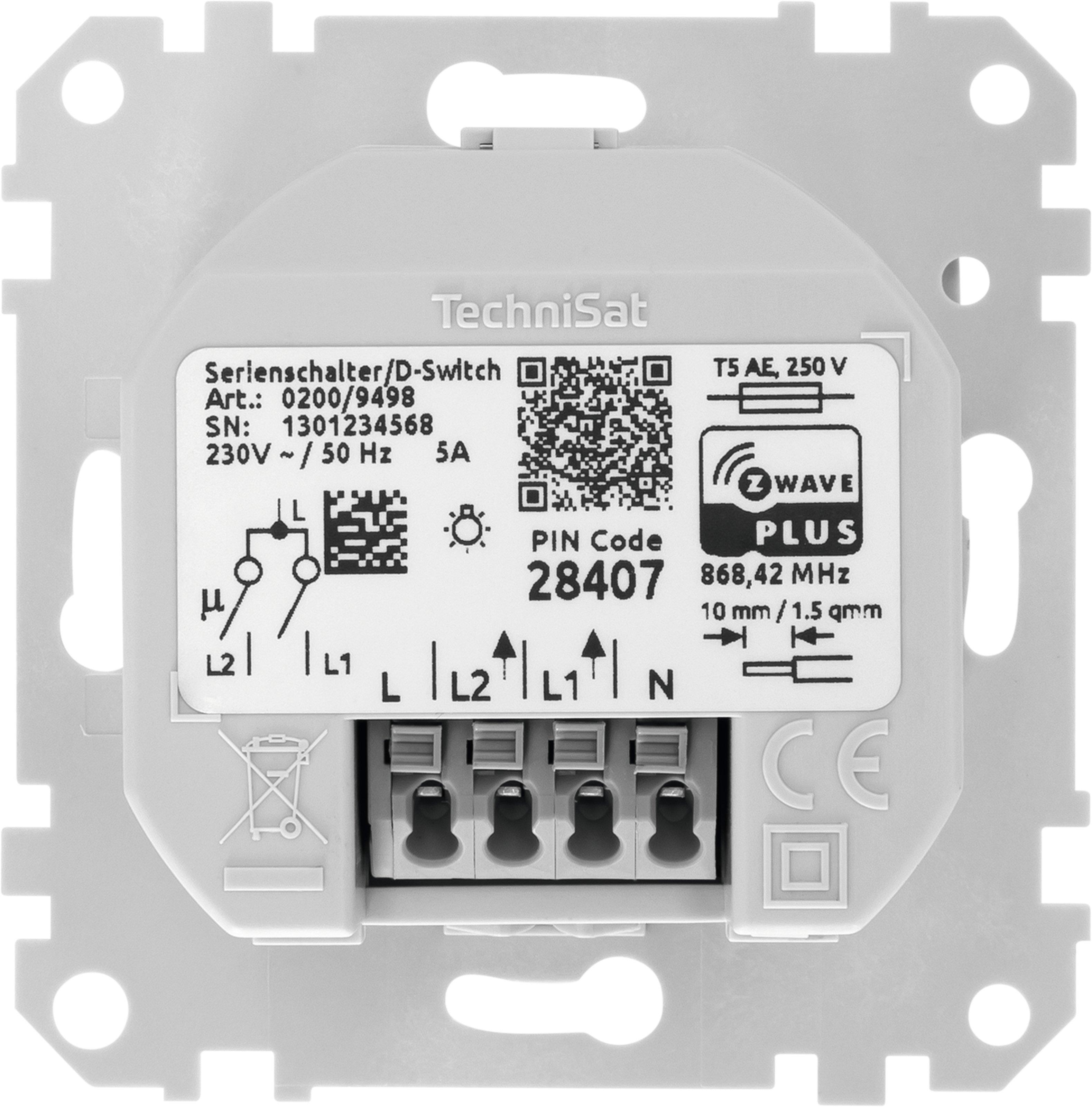 TechniSat Serienschalter Einsatz, Merten   ottosystem GmbH