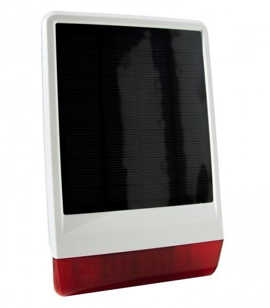 POPP Solar-Außensirene 2