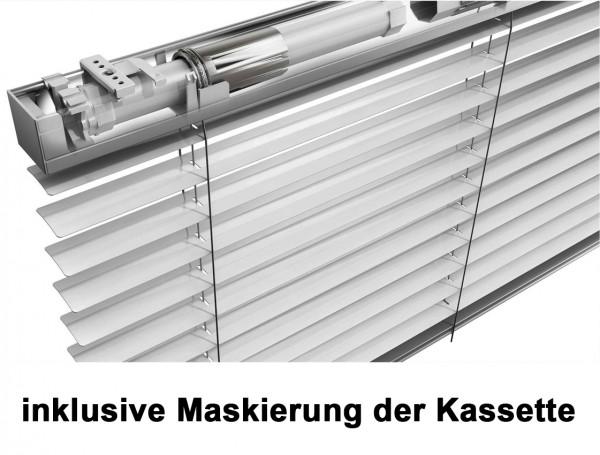 Mio Decor Elektrische horizontale Jalousie Barion Plus 230 V inklusive Maskierung – Preisgruppe 2