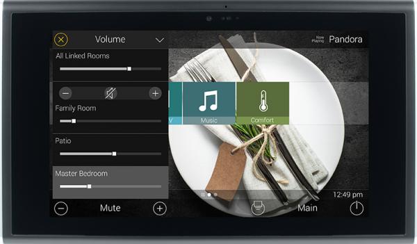 In-Wall Touchscreen TKP-7600