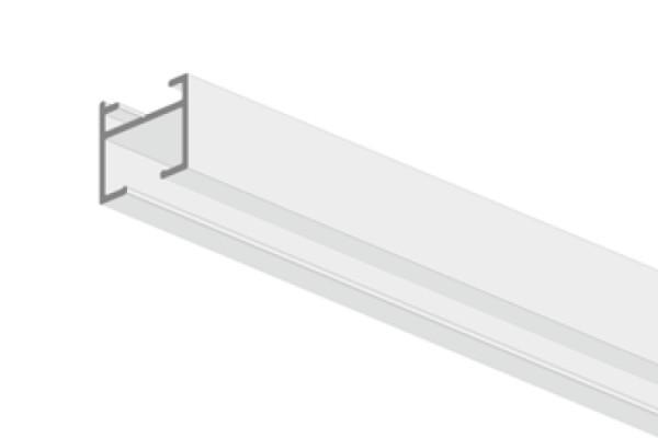 Mio Decor Simple 155 Aluminium Vorhangschiene weiß