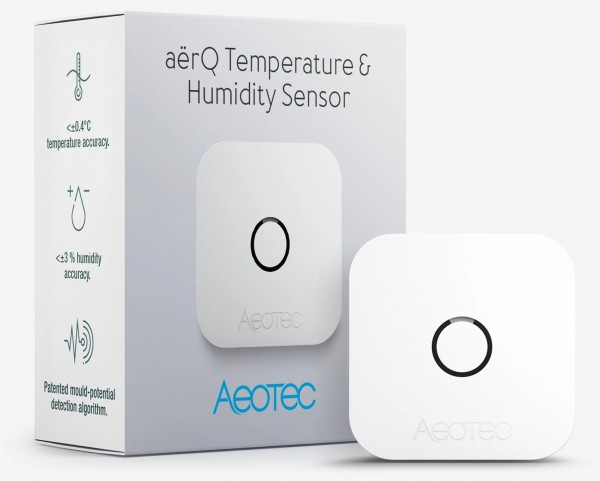 Aeotec aërQ Temperatur- und Feuchtigkeitssensor