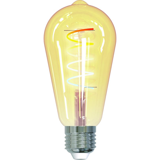 tint Edison Bulb Gold retro white+ambiance