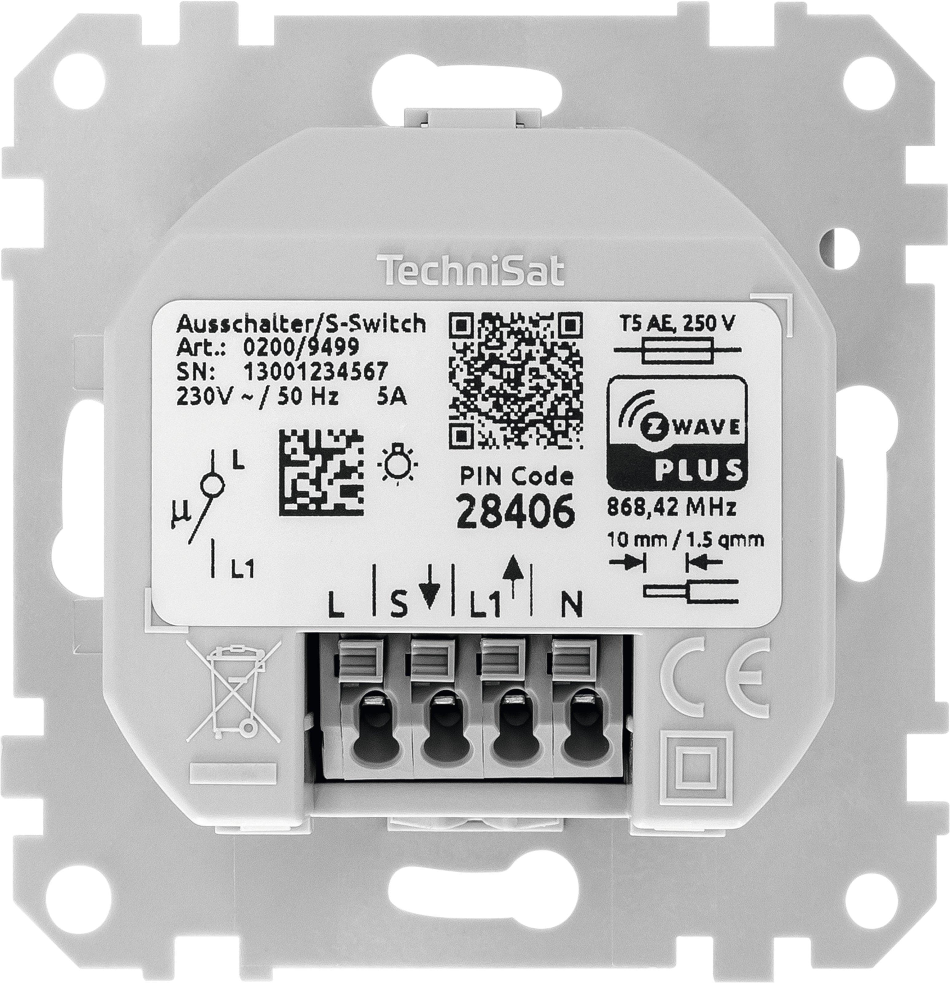 TechniSat Ausschalter Einsatz, Merten   ottosystem GmbH