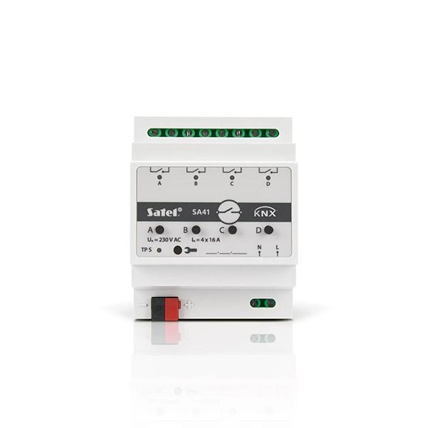 Satel KNX-SA41 Universal-Schaltaktor 4-fach