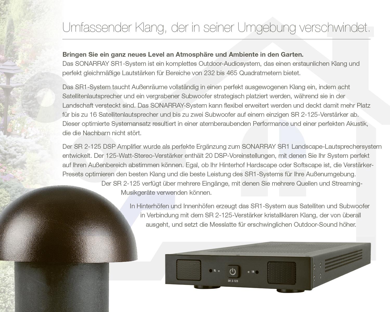 Sonance SONARRAY SR1 System mit Verstärker | ottosystem GmbH