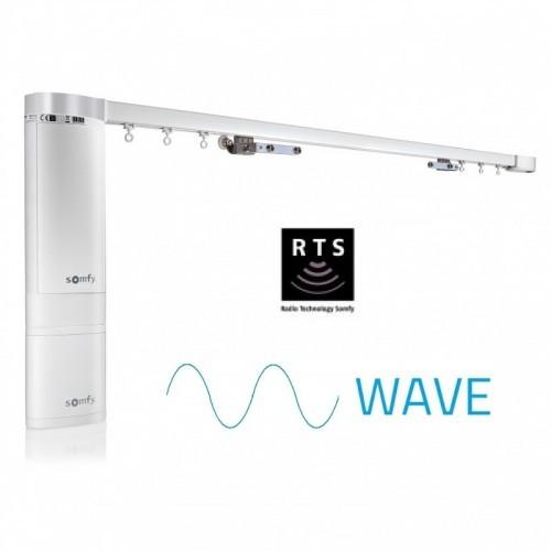 Somfy Elektrische Vorhangschiene mMotion Akku – Wave