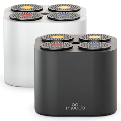 Moodo Smart Duftspender Starter Pack mit Akku