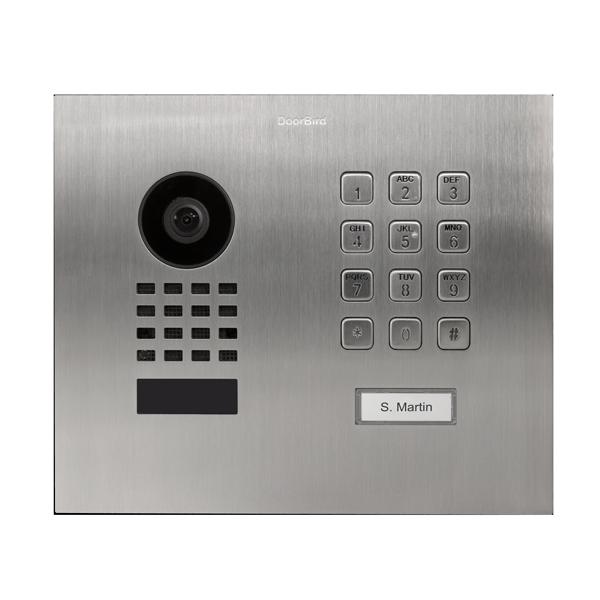 DoorBird IP Video Türstation D1101KH Modern Unterputz