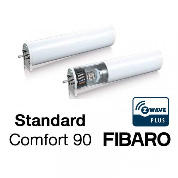 Mio Decor Elektrische Vorhangschiene Standard-Set – FIBARO