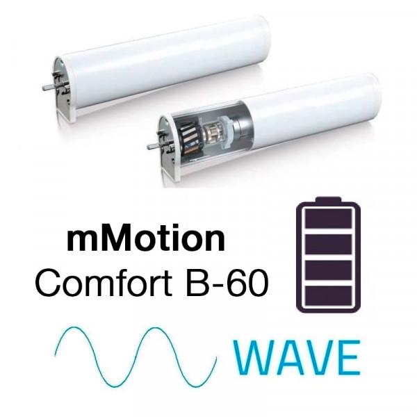 Mio Decor Elektrische Vorhangschiene mMotion Akku – Wave