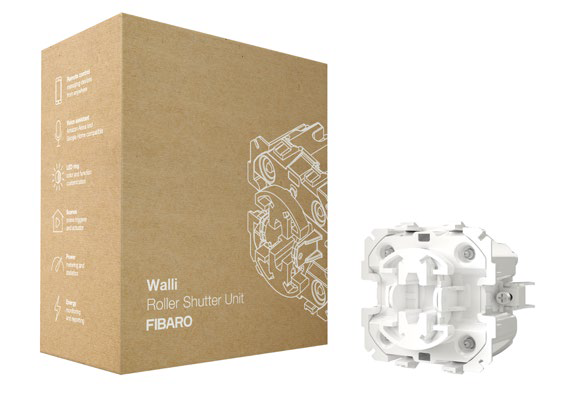 FIBARO Walli Roller Shutter Unit (10 Pack)