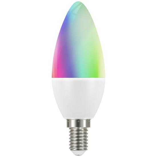 tint white+color LED Kerzenform
