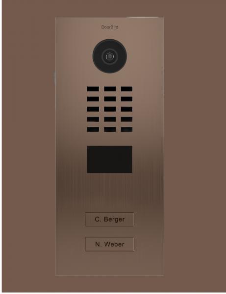 DoorBird IP Video Türstation D2102BV