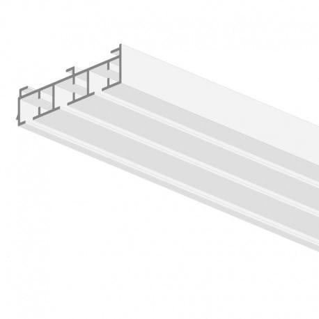 Mio Decor Imago Aluminium Vorhangschiene 3-spurig